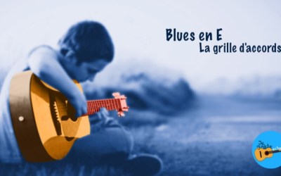 Blues en E – Grille
