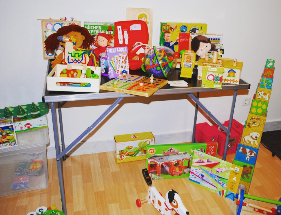 Spielzeugparty