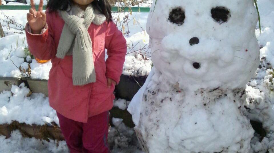 愛娘と神像「ホワイトドール」