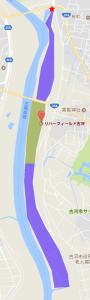 リバーフィールド古河(広過ぎ)