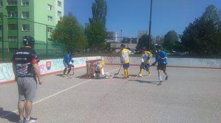 Hokejbal - HBK Vrakuňa vs Ziegelfeld