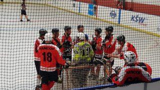 Hokejbal BHBL : HBK Vrakuňa vs Hancop Dolné hony