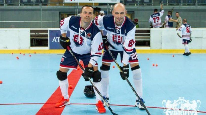 MS Veteránov v hokejbale - Peter Patak a Rudolf Kazmer