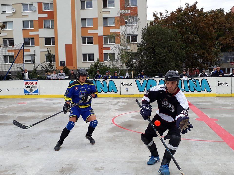 Hokejbal - HBK Ramiland Vrakuňa vs HBK 500 Nivy
