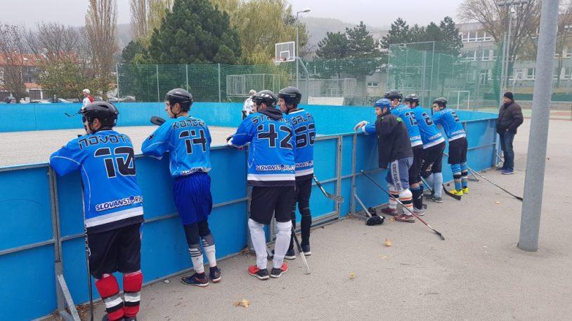 Hokejbalový zápas BHBL : SAV Lamač vs Ziegelfeld