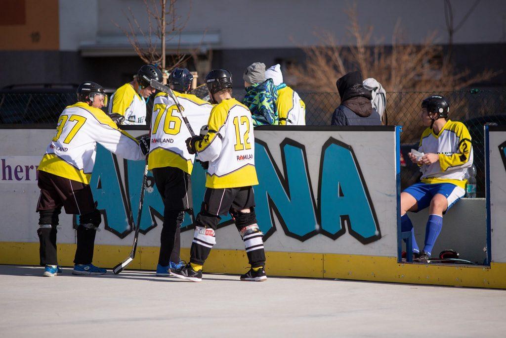 Hokejbal Board Vrakuňa vs Pekníková
