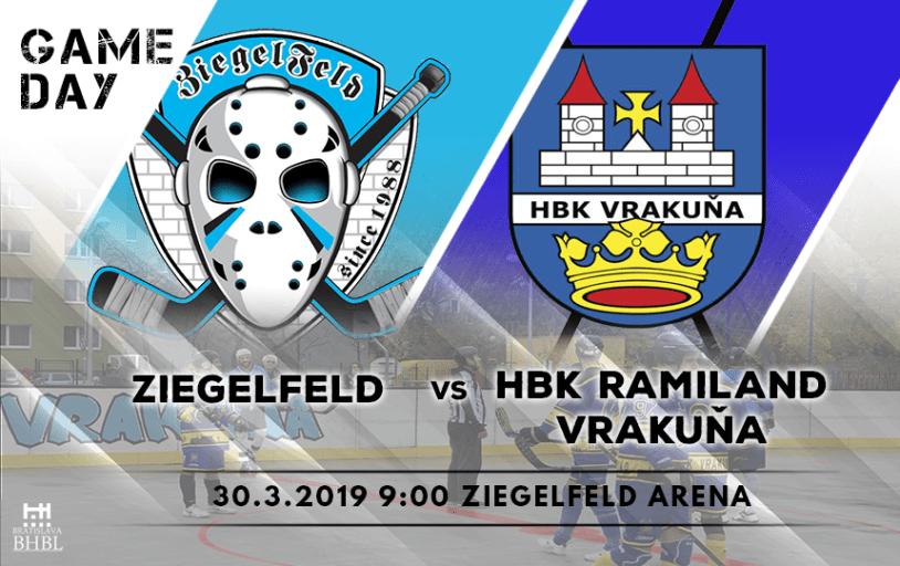 bratislavská hokejbalová liga Zeieglfeld vs HBK Ramiland Vrakuňa