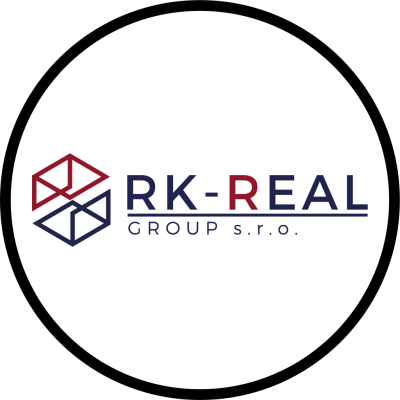 RK - REAL GROUP logo