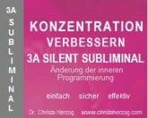 Konzentration verbessern 3A Silent Subliminal
