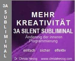 Mehr Kreativität 3A Silent Subliminal