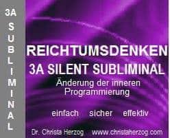 Reichtumsdenken 3A Silennt Subiminal