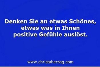 Positiv denken Positive Gefühle