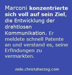 Marconi Pionier der drahtlosen Kommunikation
