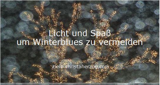 Licht und Spaß gegen Winterblues