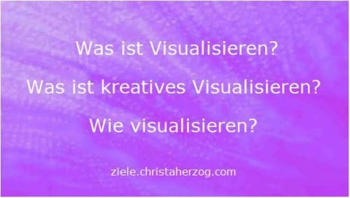 Warum visualisieren