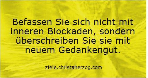 Innere Blockaden auflösen