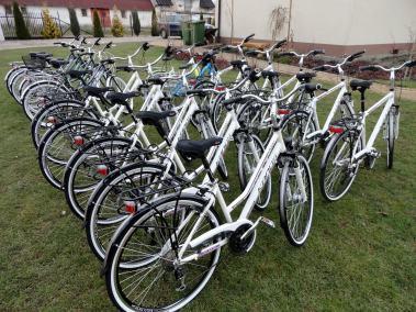 Zielona Przystań - wypożyczalnią rowerów