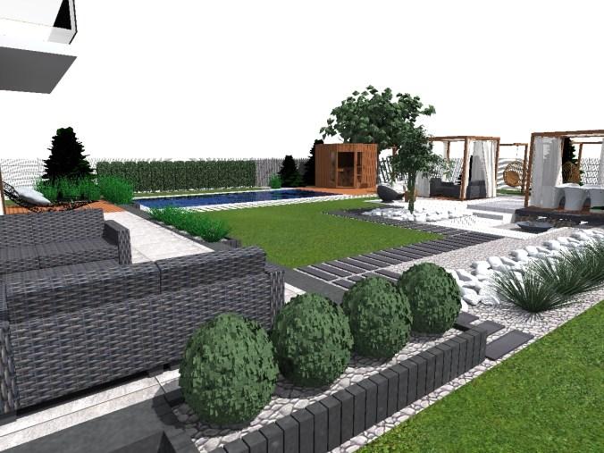 accamera1 Budowa ogrodu w Łochowie - etap I