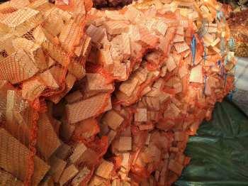 buk-dąb Drewno opałowe wworkach.