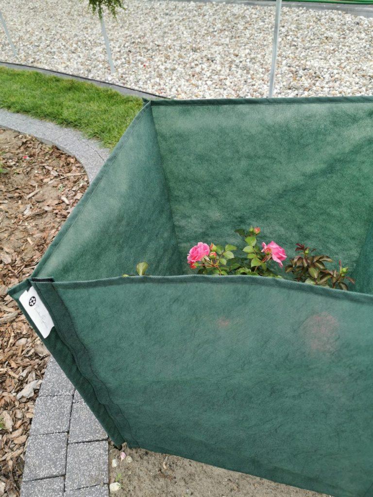 parawan chroni rośliny przed przymrozkami