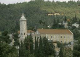 Kościół Narodzenia św. Jana Chrzciciela, wg tradycji znajduje się w miejscu domu św. Elżbiety i Zachariasza