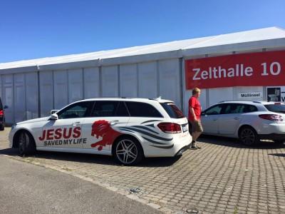 Mercedes 350 T Stuttgart ev. KiTag 2015