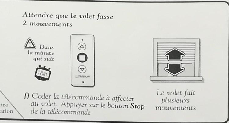 profalux_appairage_telecommande_volet