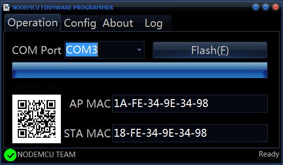 NodeMCU-Flasher-Success