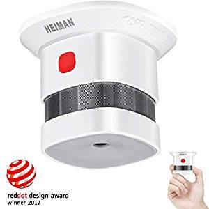 Mini détecteur de fumée-certifié CE