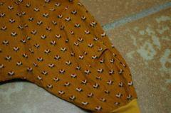 La pince dos spéciale couche lavable
