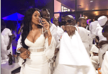 More Pictures from Ginimbi's All White Party, Kenny Kunene surrounded by beautiful women #geniusallwhite2016