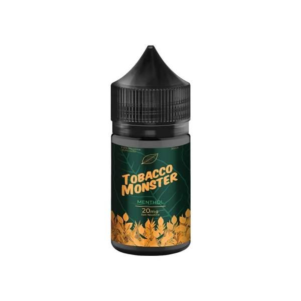 tobacco monster menthol-30ml nic salt