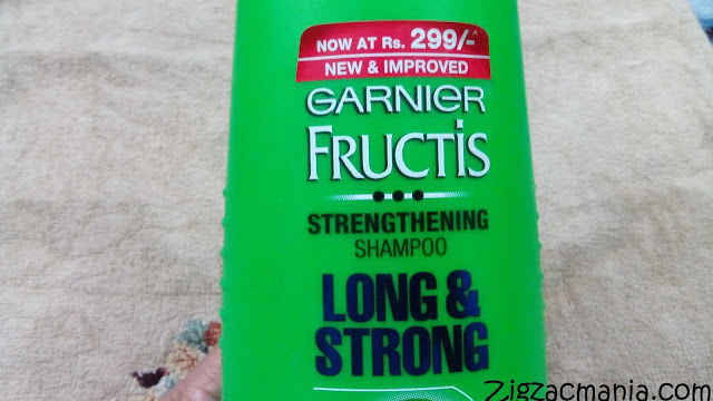 Garnier Fructis Long & Strong Strengthening Shampoo: How to rinse hair after shampooing