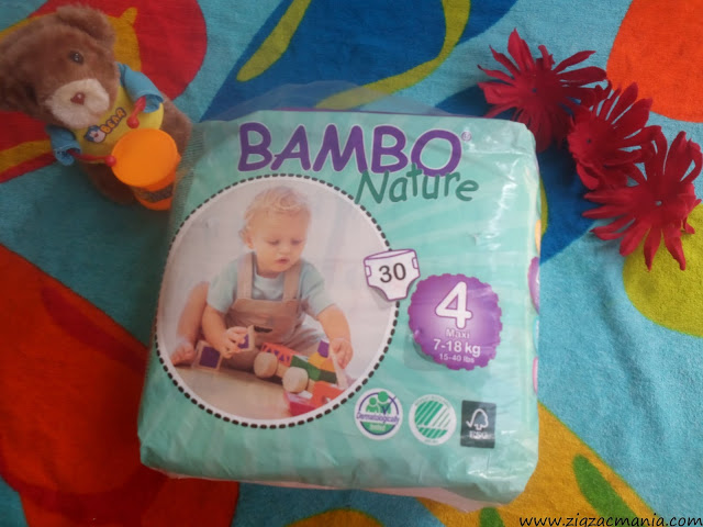 Bambo Nature Diapers Absorbing Power