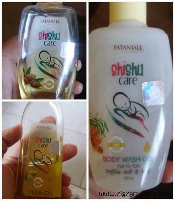 Patanjali Shishu Care Range - Patanjali Baby Products Review