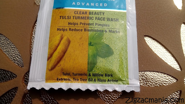 Everyuth Naturals Clear Beauty Tulsi Turmeric Face Wash Review
