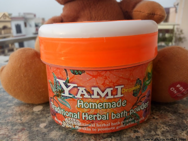 Yami Homemade Traditional Bath Powder Review