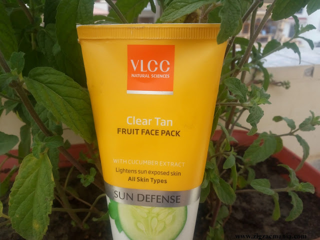 VLCC Clear Tan Fruits Face Pack Review