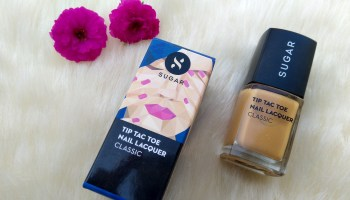 SUGAR Tip Tac Toe Nail Lacquer Review| Mustard Memory (Shade number 71)