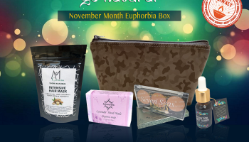 November 2018 Euphorbia Box Unboxing & Review| Go Natural