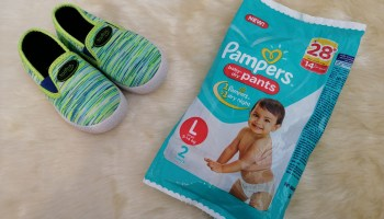 Pampers Baby-dry Pants/Diapers Review
