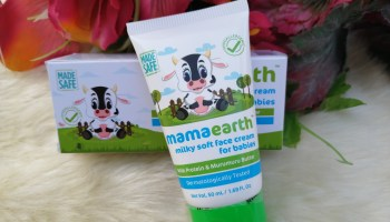 MamaEarth Milky Soft Face Cream For Babies| Review