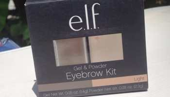 Elf Eyebrow Kit|Review