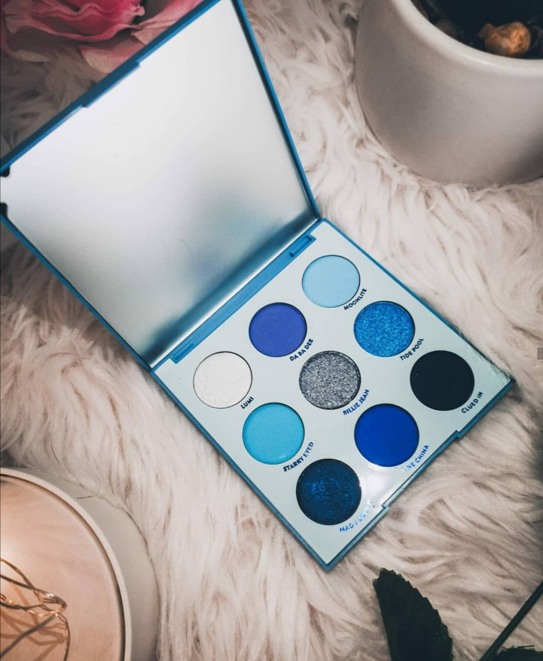 ColorPop Blue Moon Palette Review