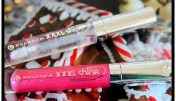 Essence XXXL Shine Lipgloss and Extreme Crazy Volume Mascara|Review