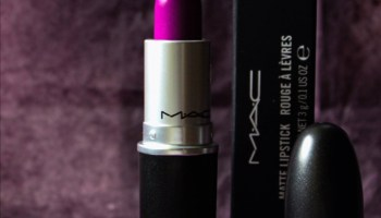 MAC Heroine Lipstick|Review & Swatch