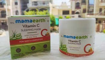 MamaEarth Vitamin C Night Sleeping Mask|Review