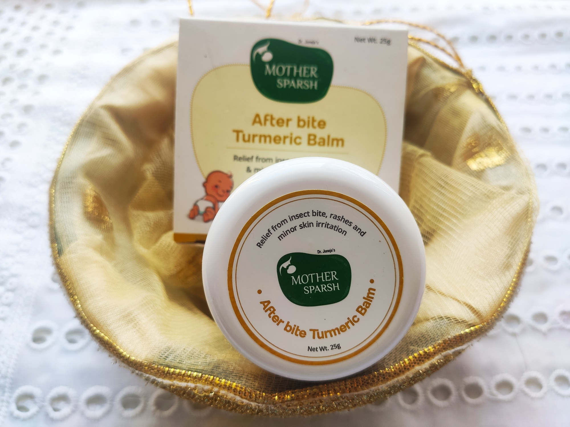 Mother Sparsh After Bite Turmeric Balm