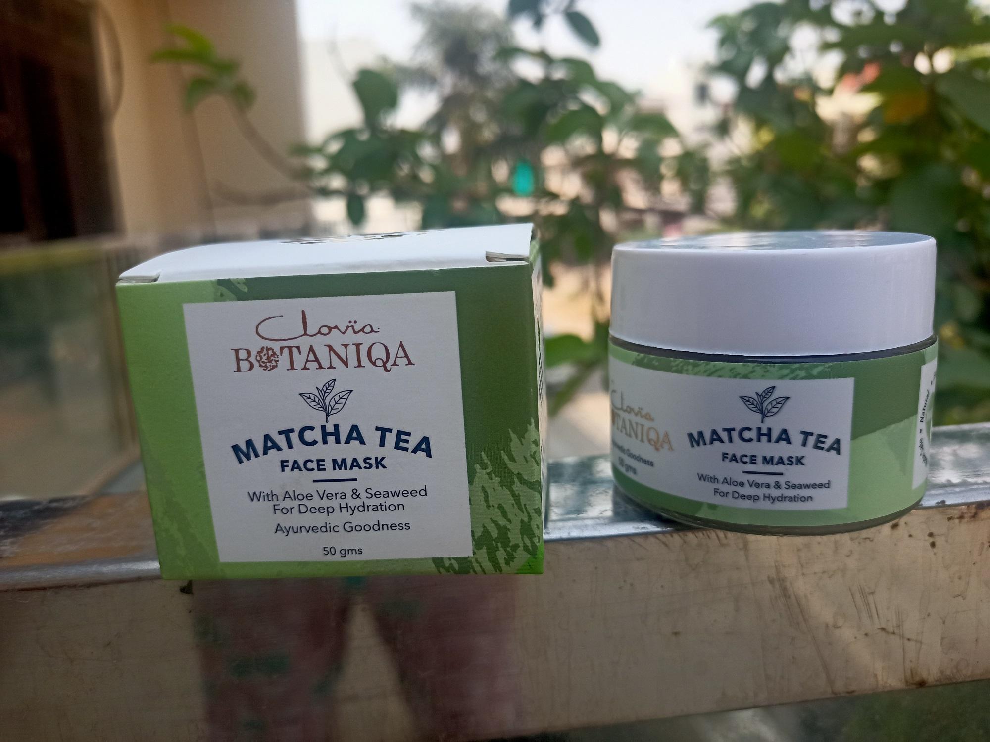 Clovia Botaniqa Matcha Tea Mask