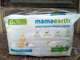 Mamaearth Plant Based Diaper Pants| Review